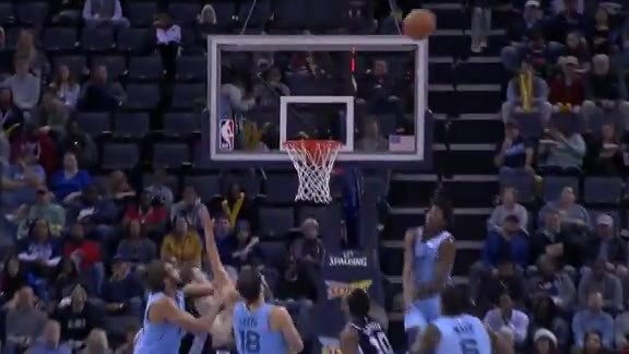 Grizz defense starts the break