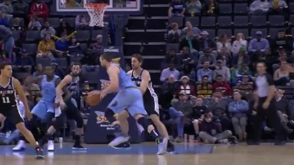 Marc Gasol 26 points vs. Spurs 1.9.19