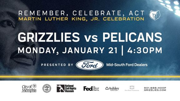 Grizzlies MLK Jr. Day Celebration preview