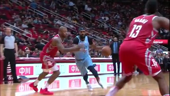 Mike Conley 14 points @ Rockets 1.14.19