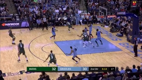 Jaren Jackson Jr. activates beast mode