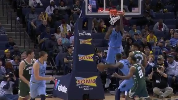 Grizzlies vs. Bucks highlights 1.16.19