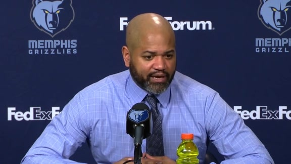 MEMvMIL: Postgame press conference 1.16.19