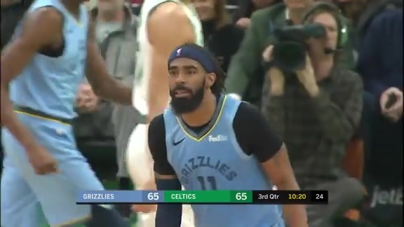 Mike Conley drops 26 points @ Celtics 1.18.19