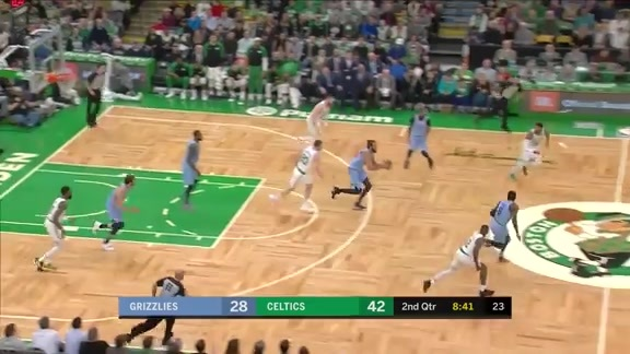 Grizzlies @ Celtics highlights 1.18.19