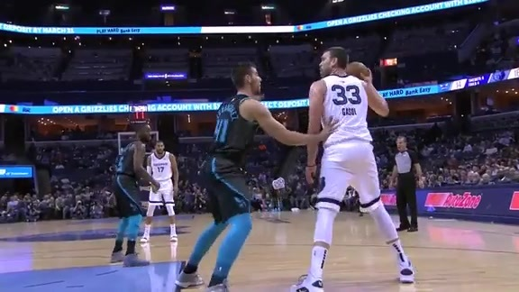 Marc Gasol triple-double vs. Hornets 1.23.19