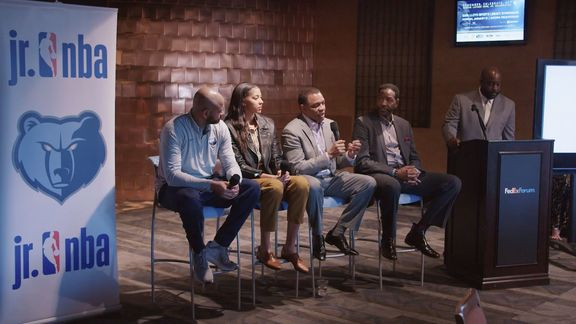 MLK Jr. NBA Memphis Grizzlies Coaches Forum