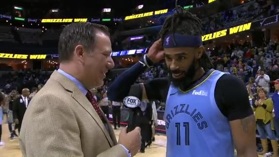 MEMvIND: Mike Conley walkoff interview 1.26.19