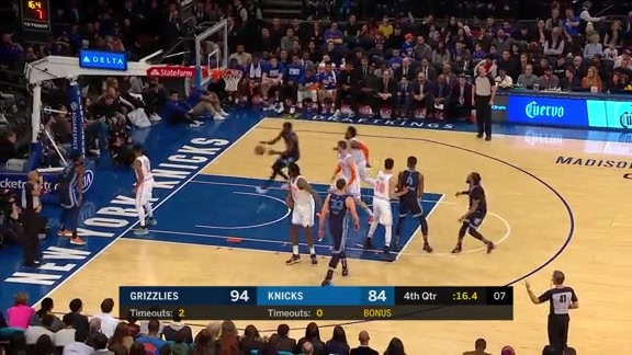 Grizzlies @ Knicks highlights 2.3.19