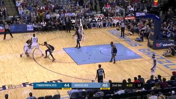 Conley with the fancy finish