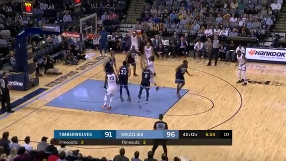 Mike Conley 25 points vs. Timberwolves 2.5.19