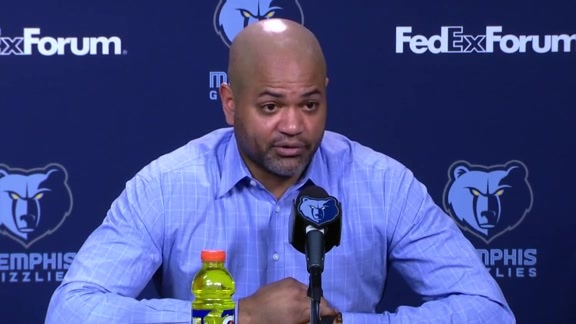 MEMvSAS: Postgame press conference 2.12.19