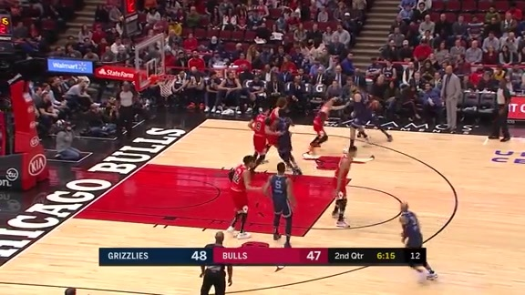 Delon Wright pulls the trigger from deep