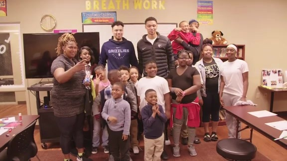 Ivan Rabb's Rookie Love Event at Salvation Army Recap