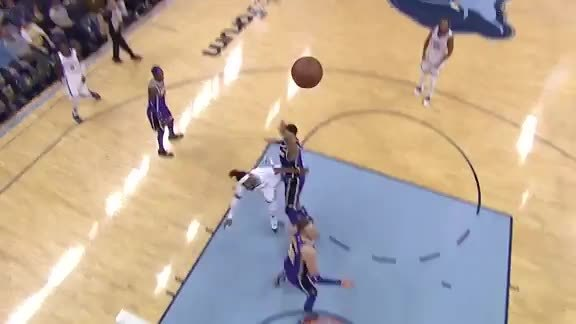 Mike Conley 30 points vs. Lakers 2.25.19
