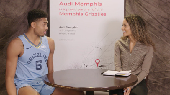 Alexis Morgan goes 1 on 1 with Bruno Caboclo