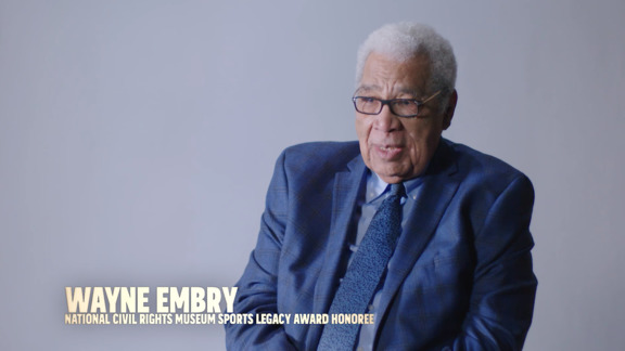 NCRM Sports Legacy Honoree Wayne Embry reflects on Dr. King presented by FedEx