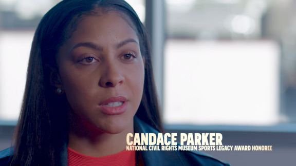 NCRM Sports Legacy Honoree Candace Parker reflects on Dr. King presented by FedEx