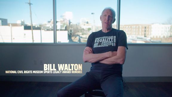 NCRM Sports Legacy Honoree Bill Walton reflects on Dr. King presented by FedEx