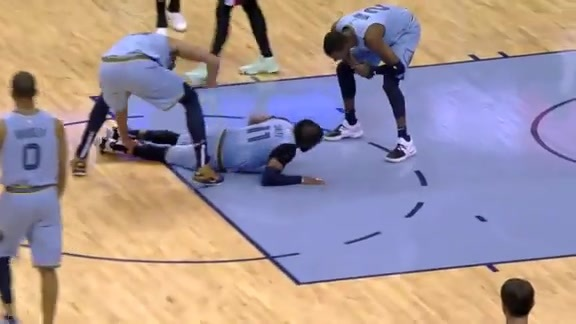 Conley's four point play