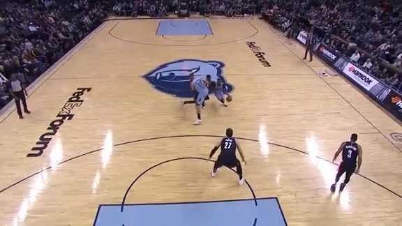 Mike Conley scores career-high 40 points vs. Trail Blazers 3.5.19
