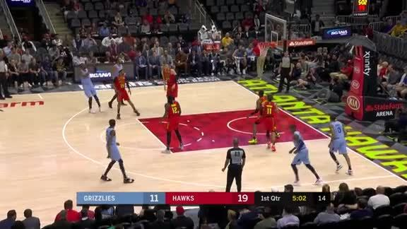 CJ Miles 33 points @ Hawks 3.13.19