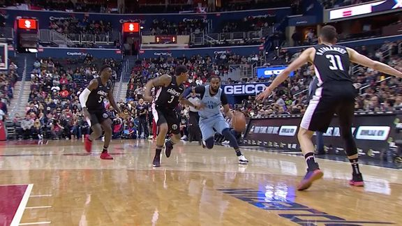 Grizzlies @ Wizards highlights 3.16.19