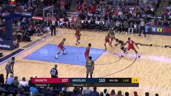 Mike Conley 35 points vs. Rockets 3.20.19