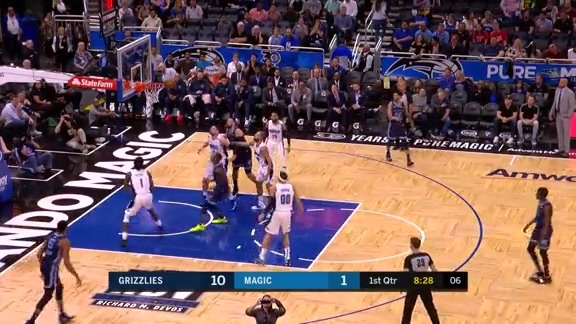 Chandler Parsons step-back and-1