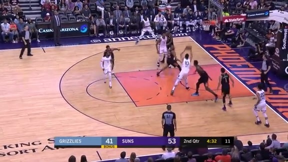 Tyler Dorsey finds Ivan Rabb for the pick-and-roll
