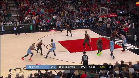Chandler Parsons connects from behind the arc