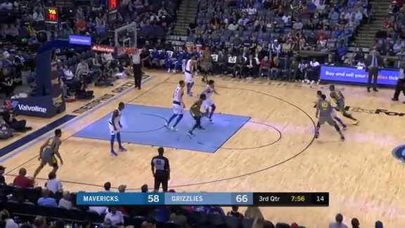 D. Wright records triple-double vs. Mavericks 4.7.19