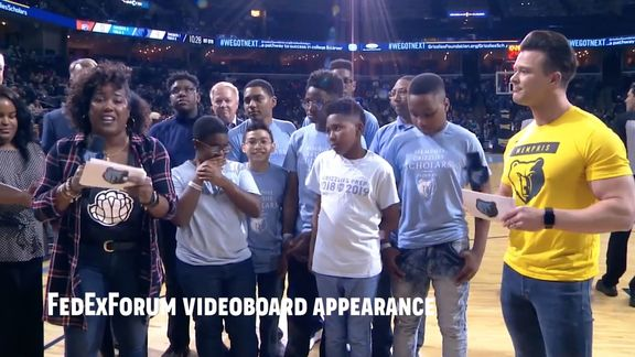 Grizzlies Prep Ford Scholars Recap with Andre Fields
