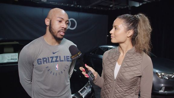 Alexis Morgan goes 1 on 1 with Jevon Carter