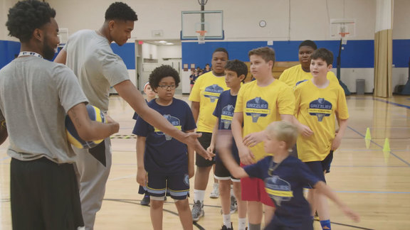 Grizzlies Youth Basketball Summer Camp ft. Bruno Caboclo
