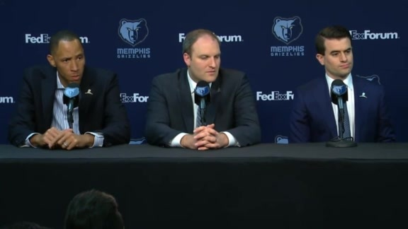 Head Coach Taylor Jenkins Introductory Press Conference