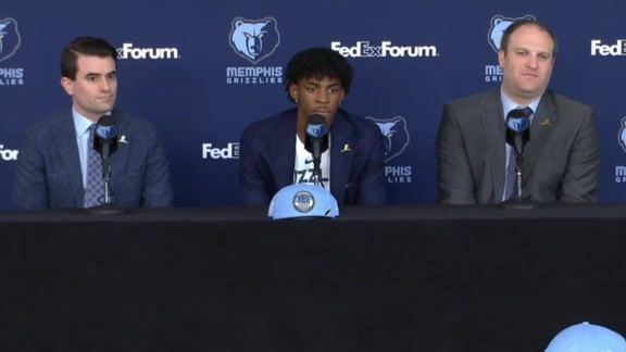 Ja Morant Post-Draft Press Conference