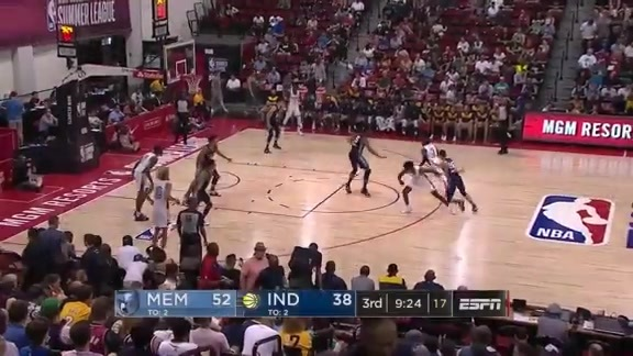Grizzlies @ Pacers highlights 7.6.19