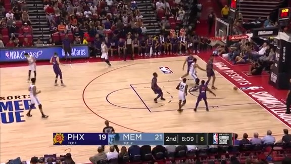Tyler Harvey 19 points @ Suns 7.9.19