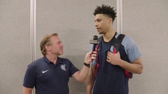 7.14.19 Brandon Clarke postgame media availability