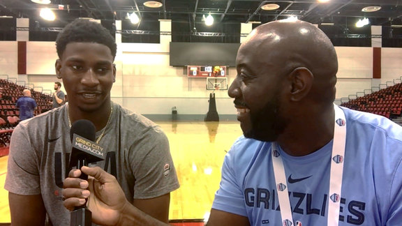 Jaren Jackson Jr. update from Team USA FIBA World Cup Training Camp