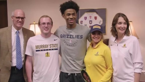 Ja Morant's Return to Murray State Recap