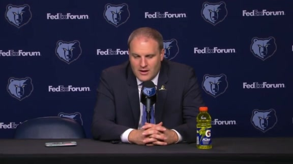 MEMvMAC: Postgame press conference 10.6.19