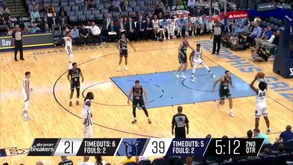 Grizzlies vs. Breakers highlights 10.8.19