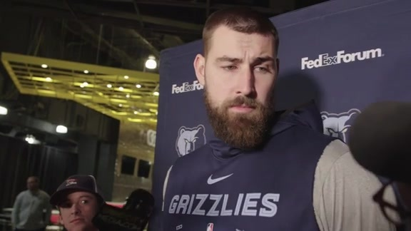 10.14.19 Jonas Valanciunas media availability