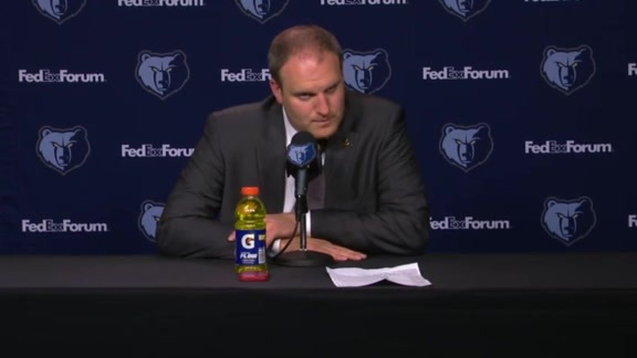 MEMvCHA: Postgame press conference 10.14.19