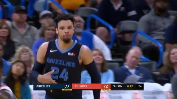 Dillon Brooks 30 points @ Thunder 10.16.19