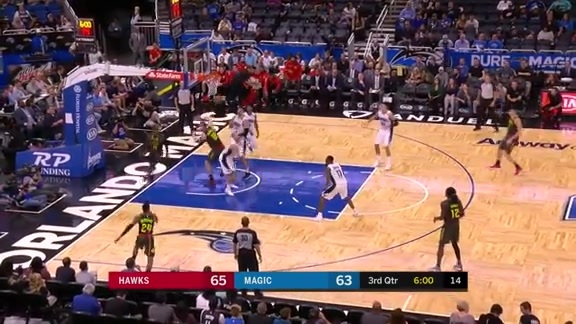 Plumlee Rattles Rim vs. Magic