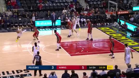 Bazemore Clinches 20 Points And Game Winner Against Pelicans
