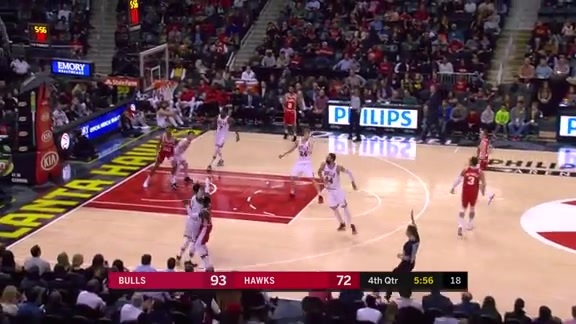 Dennis Schröder Goes For 18 Points In Match-Up With Bulls
